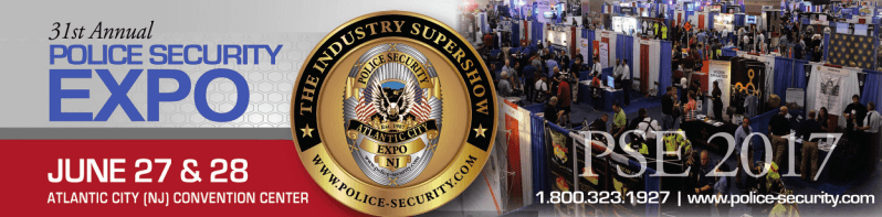 Police and Security Expo Banner